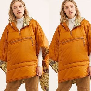 NEW Free People We The Free Traveling Band Cape